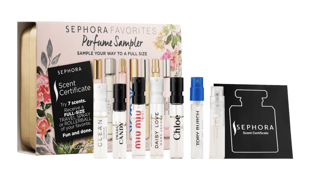 What to pack in your purse at a festival: Mini perfume