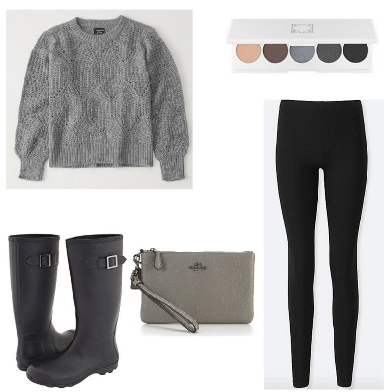 Black and Gray Casual