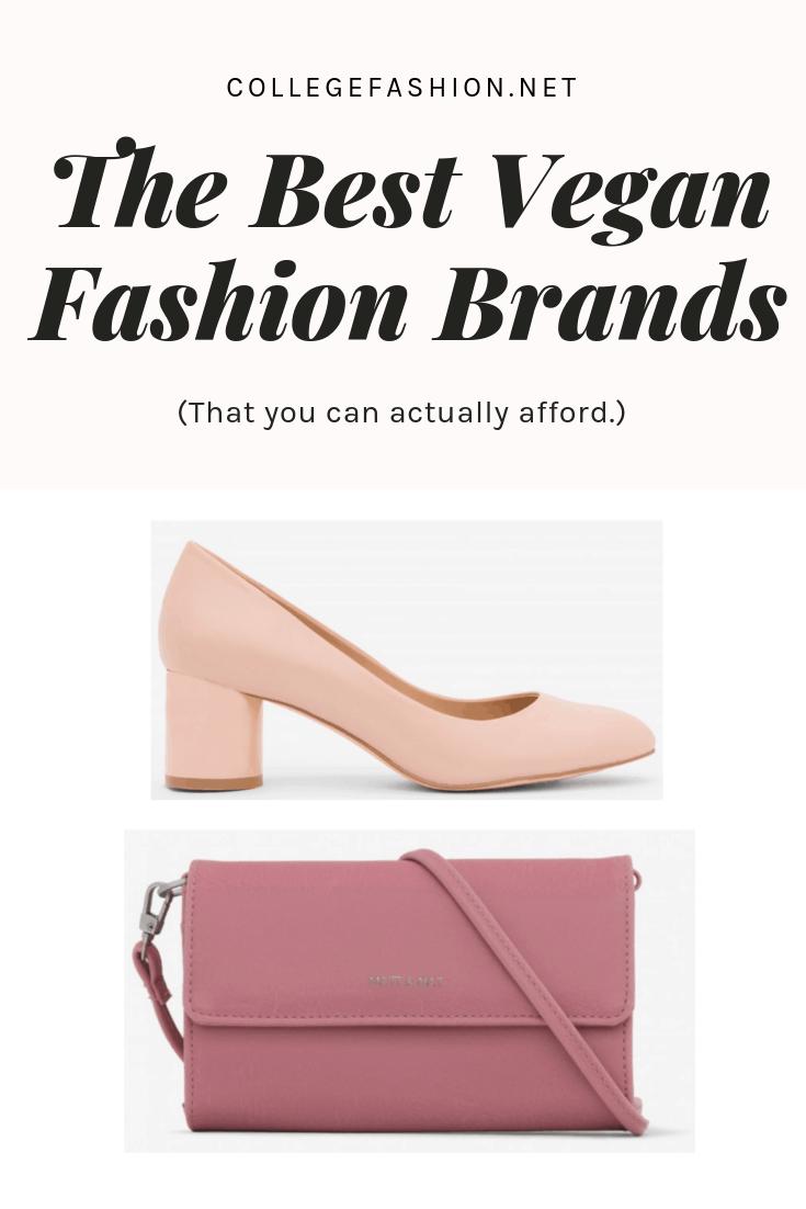 Affordable vegan clothing brands