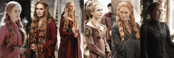 Cersei Lannister outfits