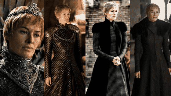 Cersei Lannister outfits season 7