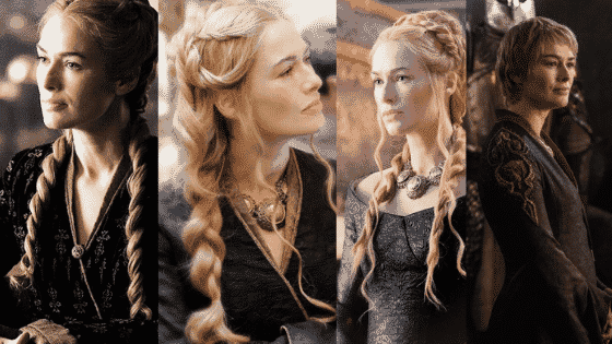 Cersei Lannister outfits seasons 4-6