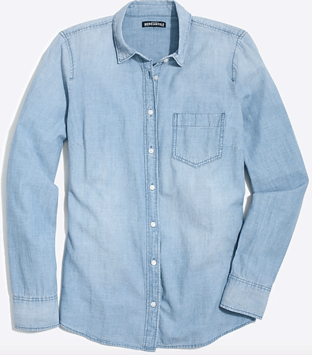 Chambray shirt from J.Crew factory