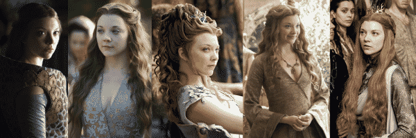 Margaery Tyrell outfits over all seasons of Game of Thrones