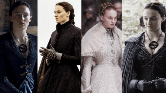 Sansa Stark outfits season 5