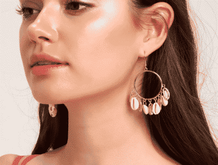 Shell earrings - spring 2019 jewelry trends