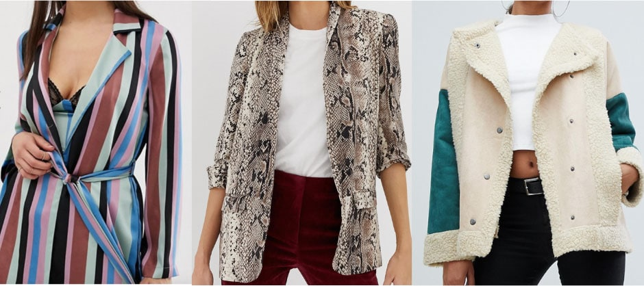 Easy outfit ideas: Statement jackets
