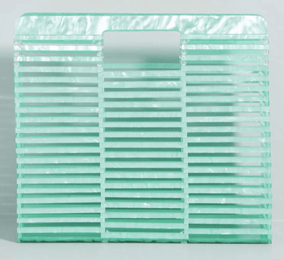 Full Transparency Clutch - cute spring handbags on a budget