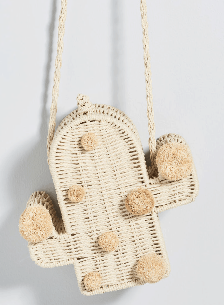 Arid Adornment Cactus Crossbody Bag