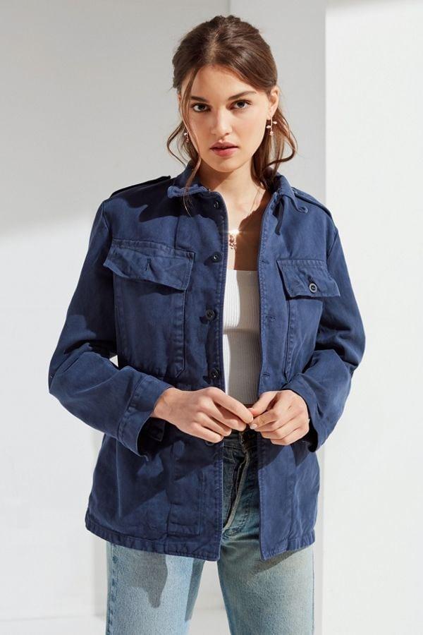 Instagram aesthetic: Blue oversized jacket