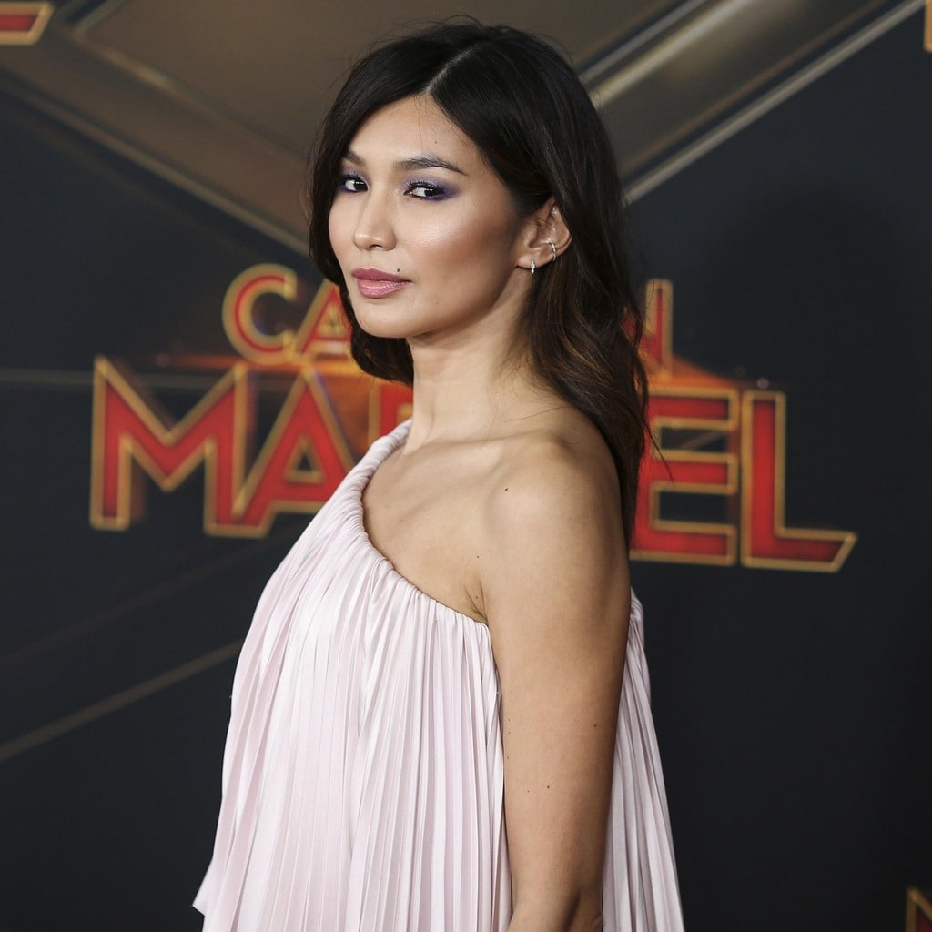 Gemma Chan at the premiere of Captain Marvel