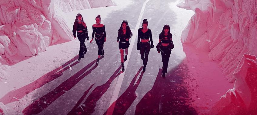 f5ad39eec7ddf K-Pop Fashion  Red Velvet  Bad Boy  Music Video - College Fashion
