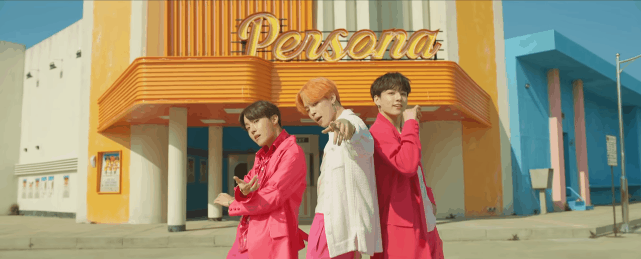 K-Pop Fashion: BTS Boy with Luv Music Video