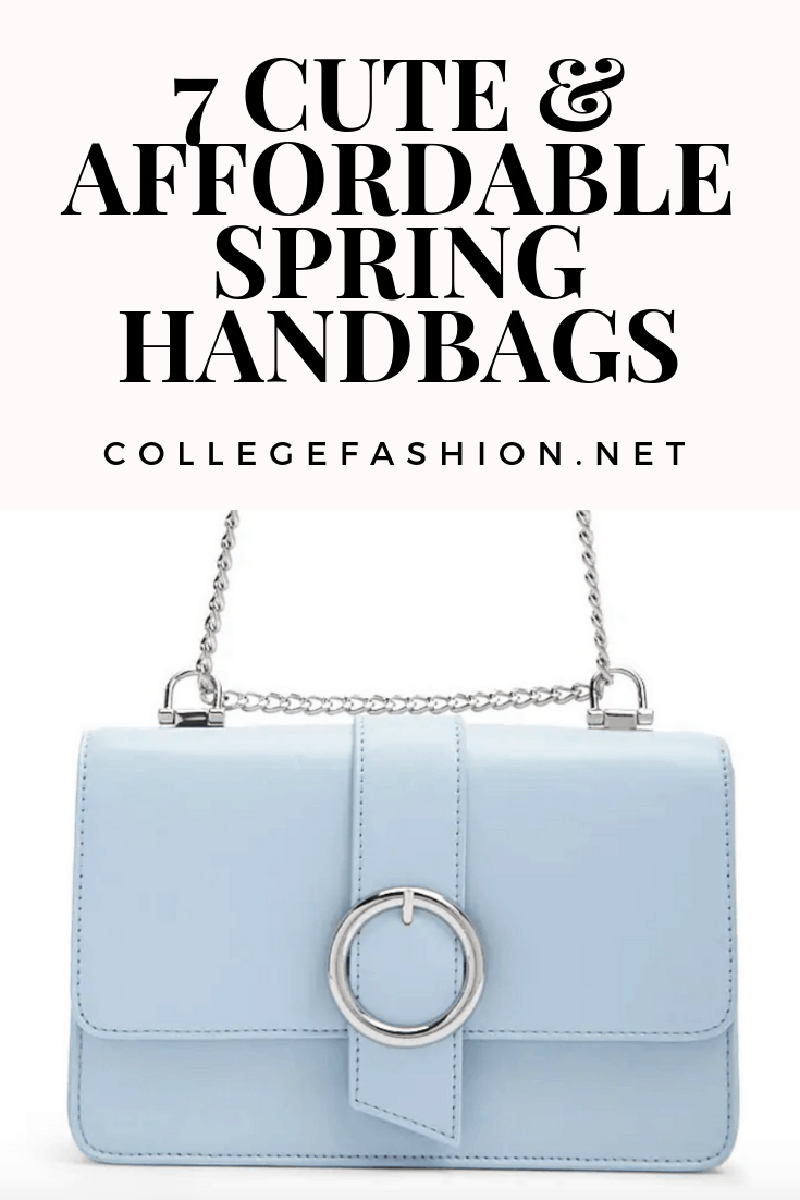 7 cute and affordable spring handbags - roundup of our favorite stylish and cheap crossbody bags and clutches for spring 2019