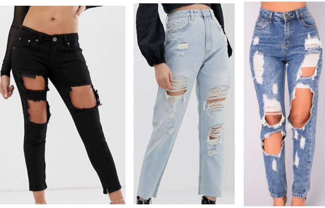 Ultra ripped jeans