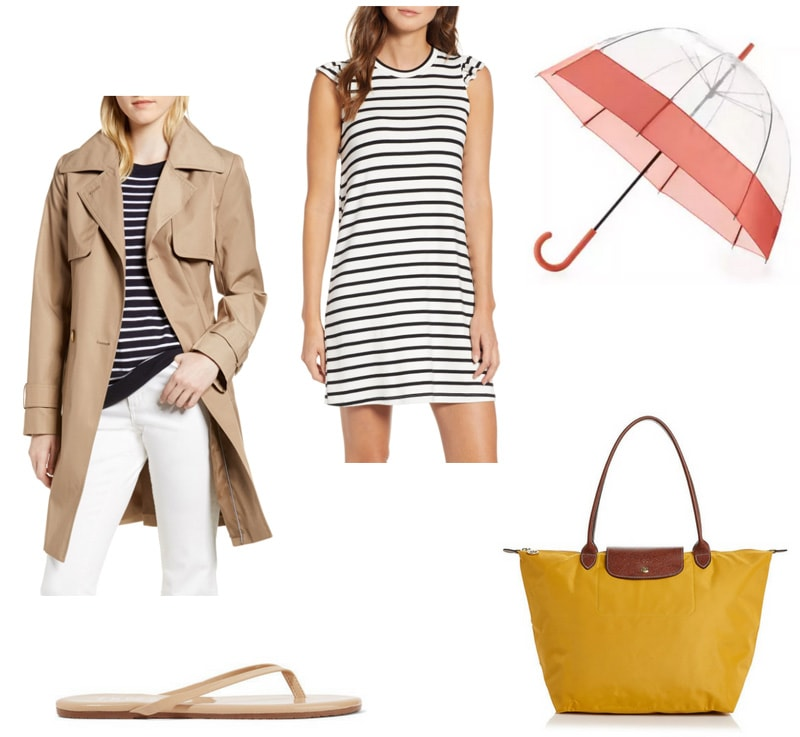 Spring Showers What To Wear On A Warm Rainy Day College Fashion