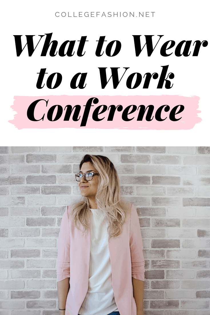 What to wear to a work conference: Outfits and tips
