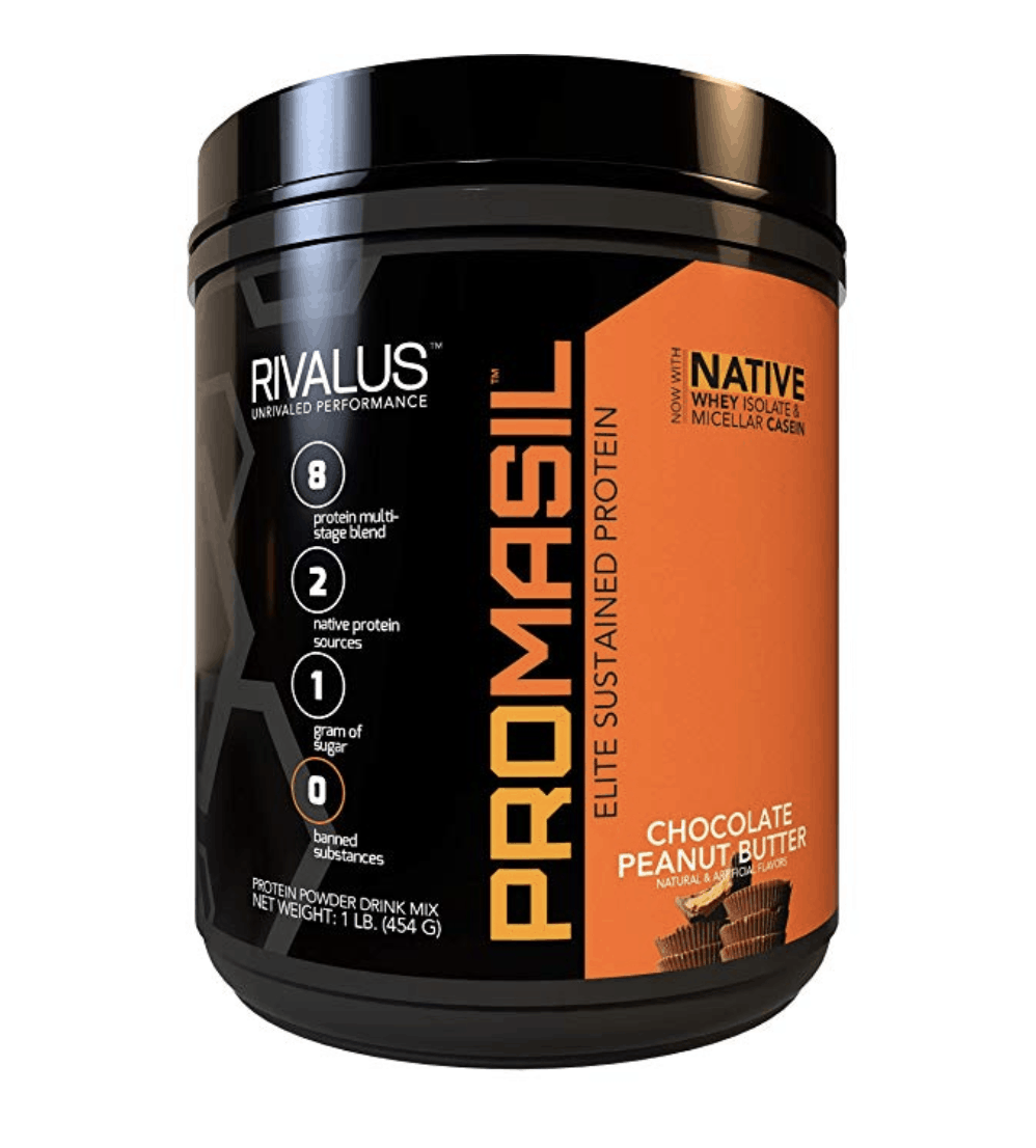 protein powder jar