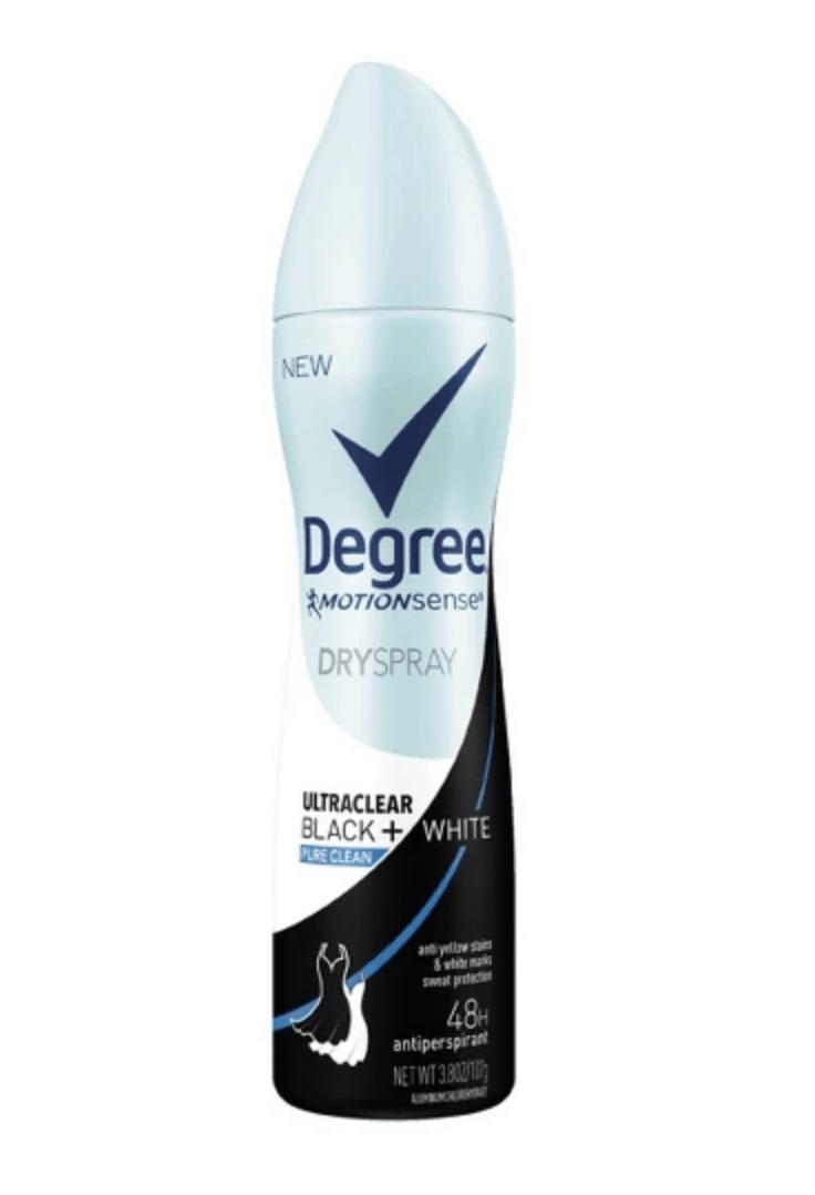 spray on deodorant