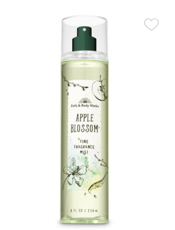 green body spray