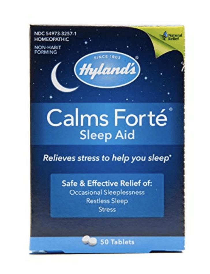 hyland's calms forté box
