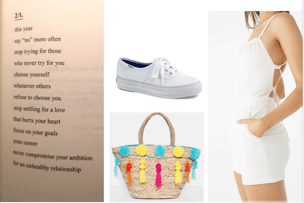 instagram poetry summer outfit