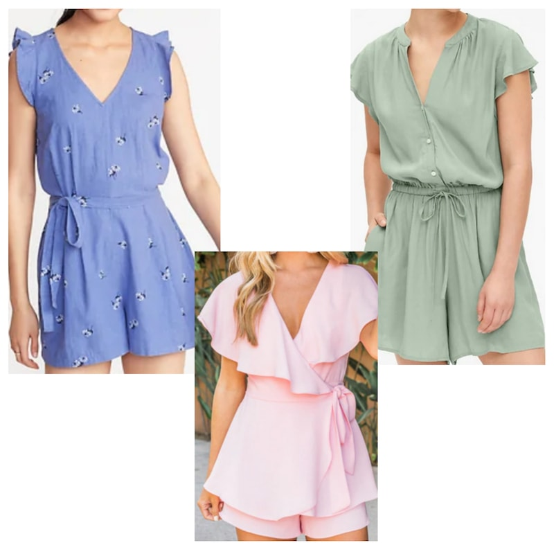 Rompers inspired by Petra's style from Jane the Virgin