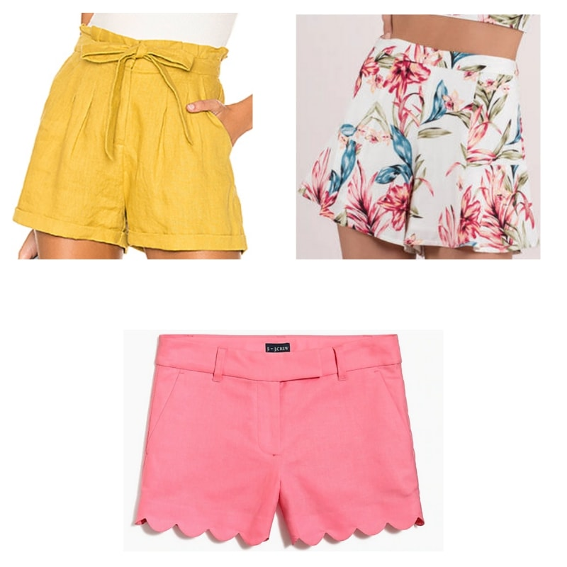 High-waisted shorts inspired by Petra's style from Jane the Virgin