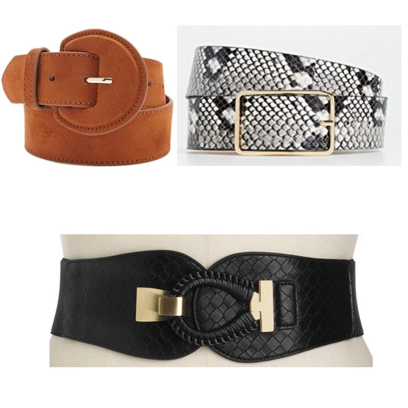 Variety of belts inspired by Xiomara from Jane the Virgin