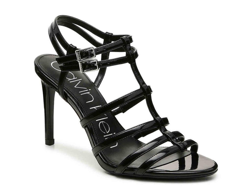 Black heel from Calvin Klein