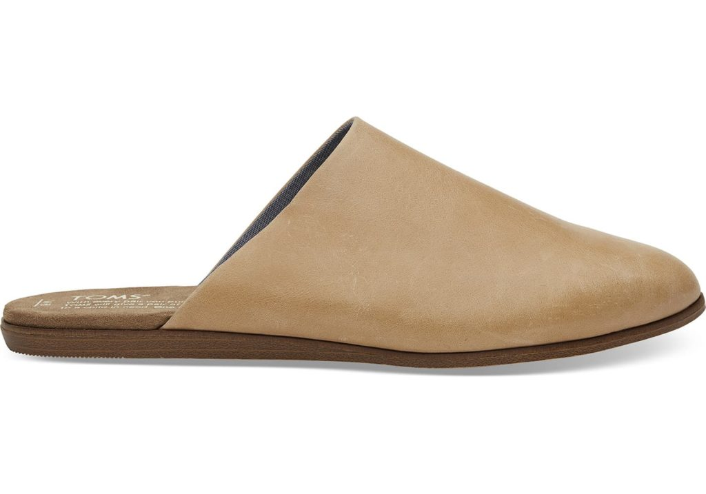 Flat mules from Tom's