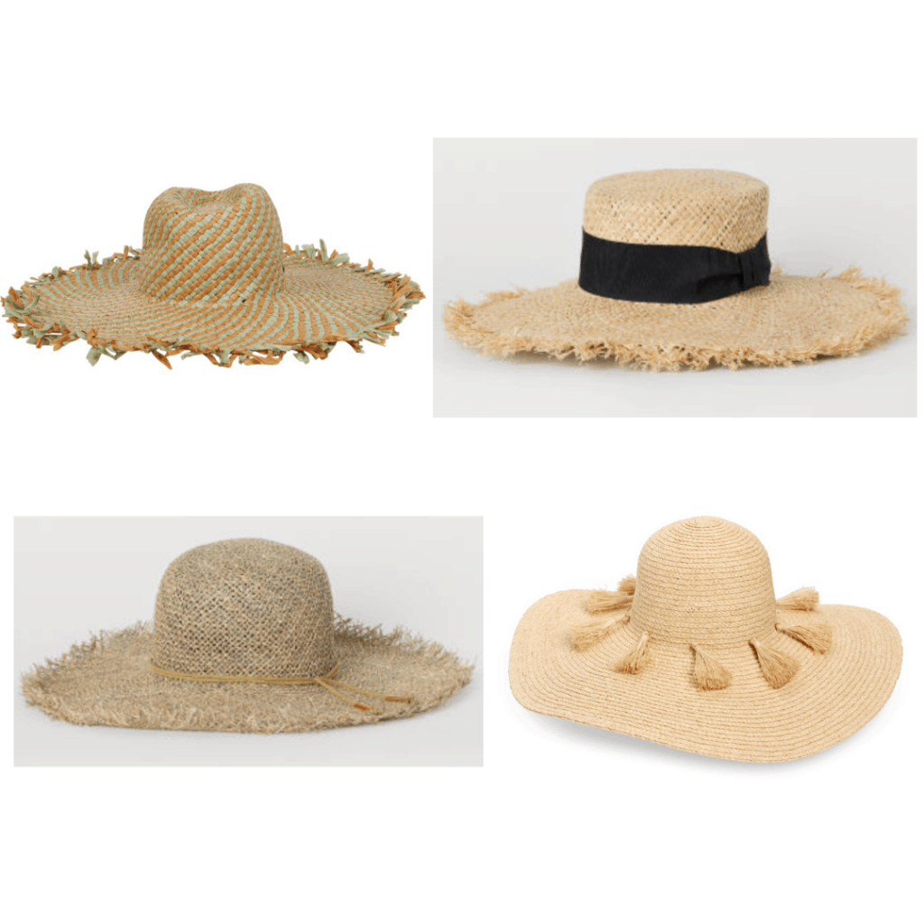 Fringe Straw Hats: Fringe Sun Hat, Fringe Boater Hat, Khaki Fringe Hat, Tassel Sun Hat