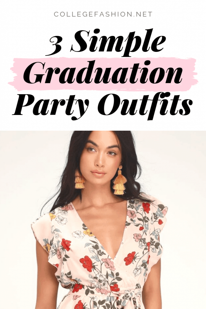 3 simple and easy graduation party outfits for any dress code