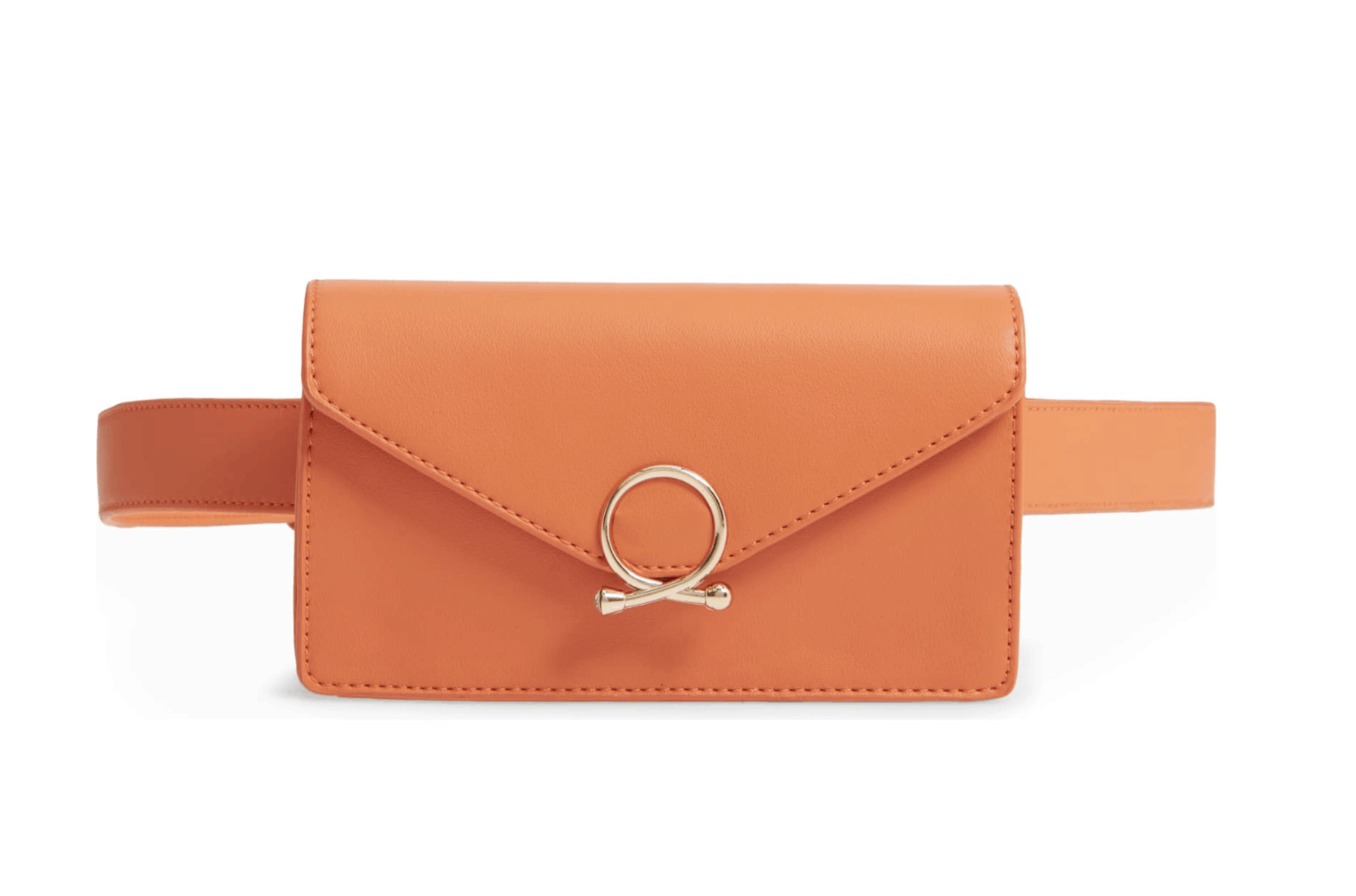 orange belt bag