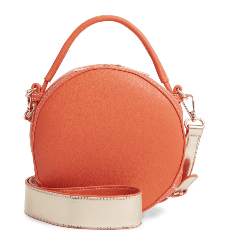 orange circle bag