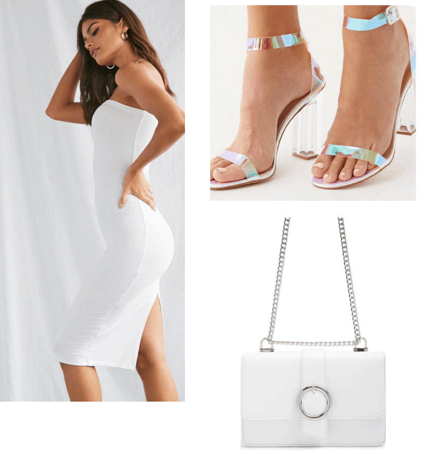White summer outfit College Fashion