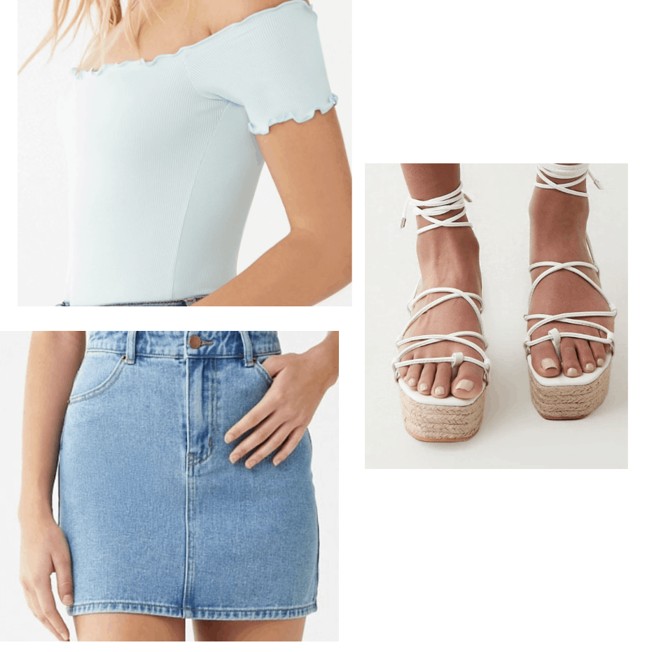 casual summer outfit college fashion