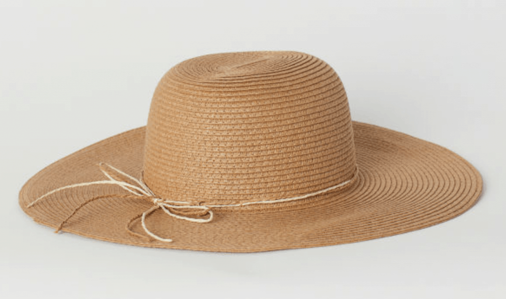 straw sun hat college fashion