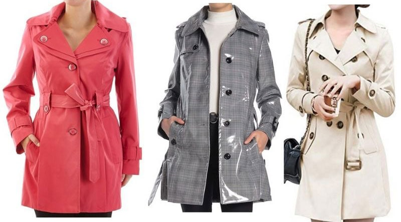 Affordable trench coats by London Fog and Osemy