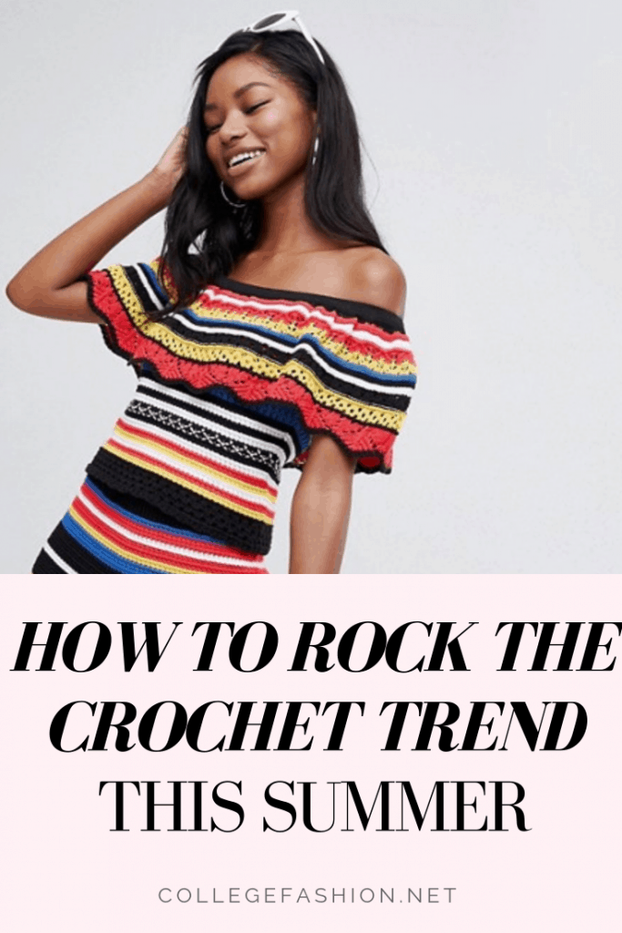 How to rock the crochet trend this summer - a guide to our favorite crochet dresses, tops, crochet bikinis, and two piece sets
