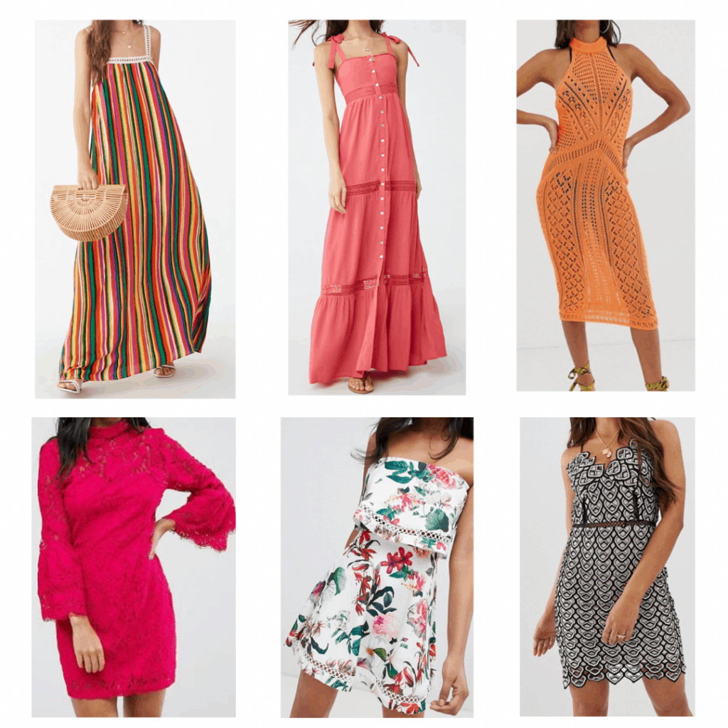 Crochet Outfits: Maxi dress, High neck dress, crochet maxi dress, crochet midid dress, flounce mini dress, crochet strappy dress