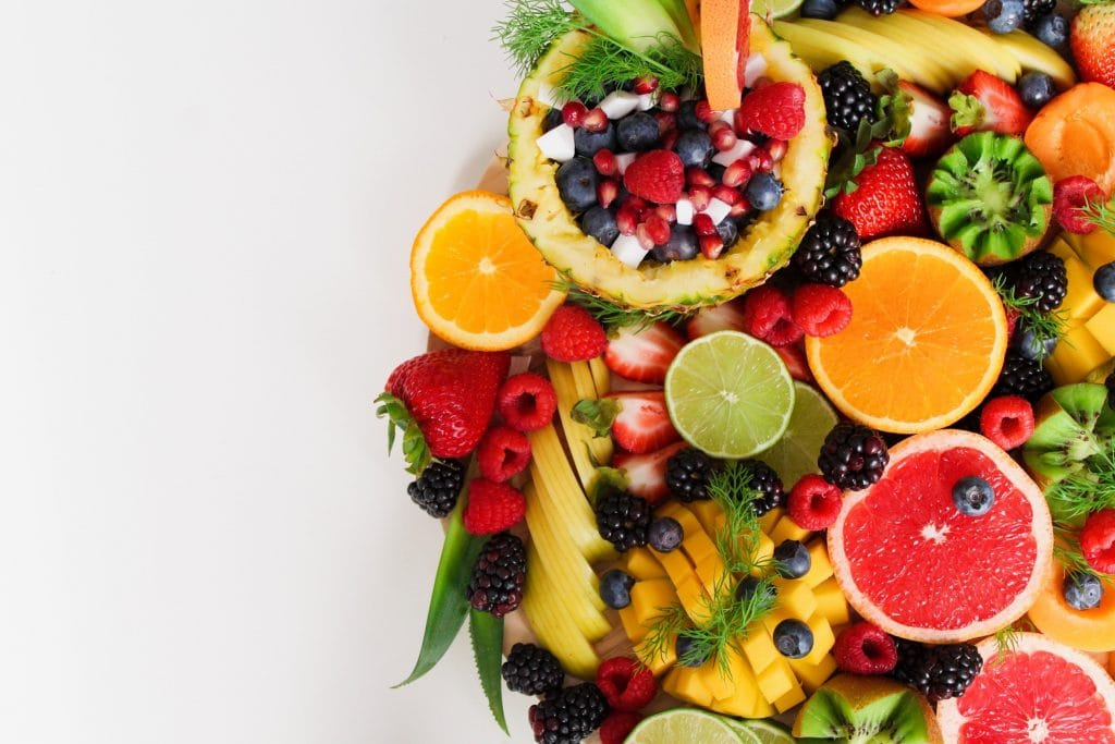 Fruits and veggies - prevent skin aging by eating lots of these healthy foods