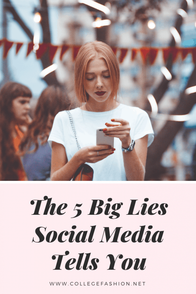 The 5 big lies social media tells you -- how social media affects mental health and comparisons