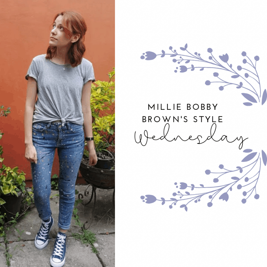 MILLIE'S STYLE WEDNESDAY: JEANS, T SHIRT AND CONVERSE