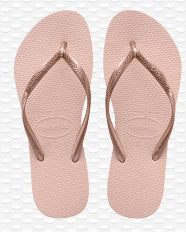 Havaianas flip flops are a rio fashion favorite