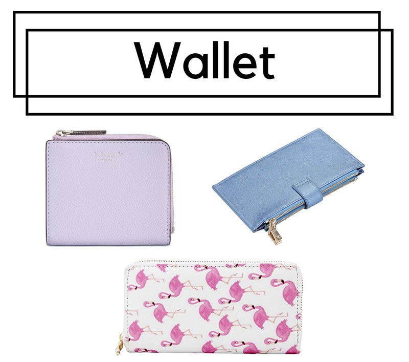 College bags for girls - wallets