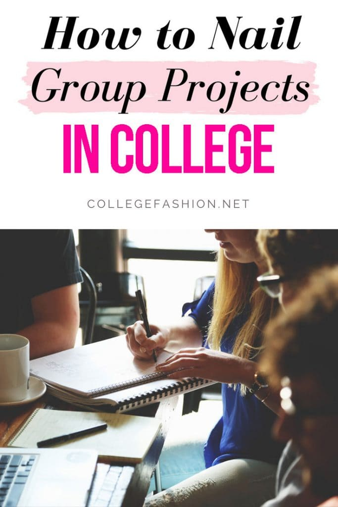 How to nail group projects in college