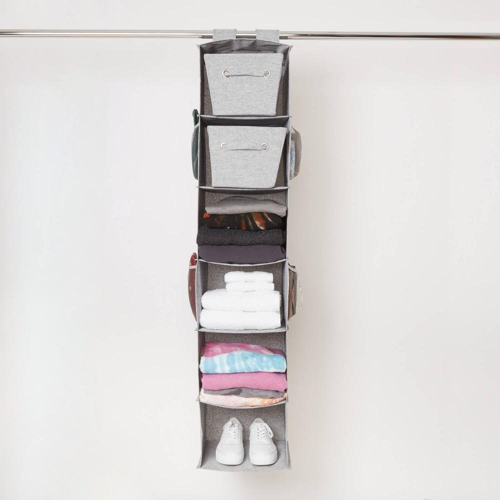 Hanging closet organizer with six pockets from Dormify