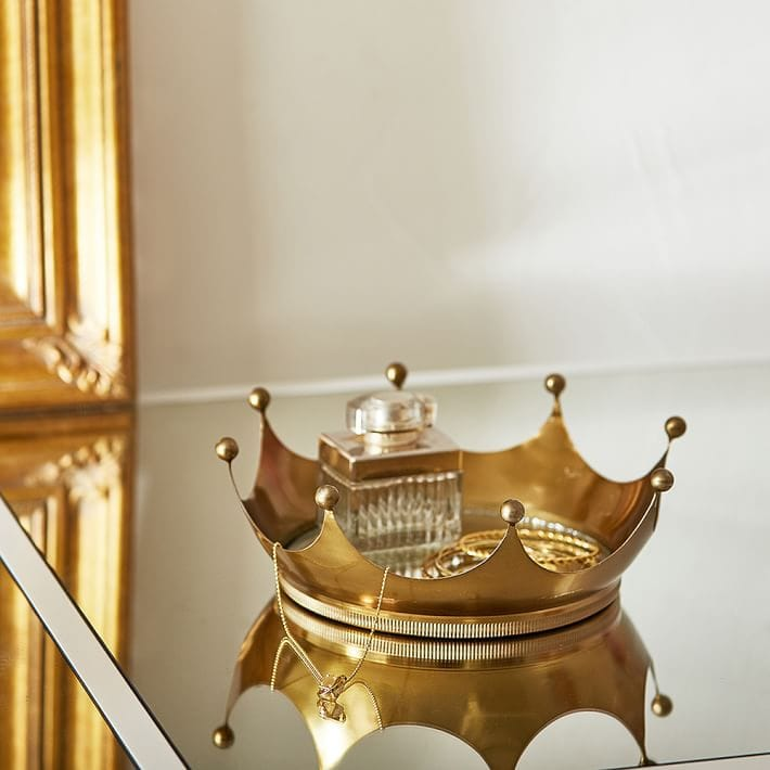 Crown jewelry tray from PBDorm