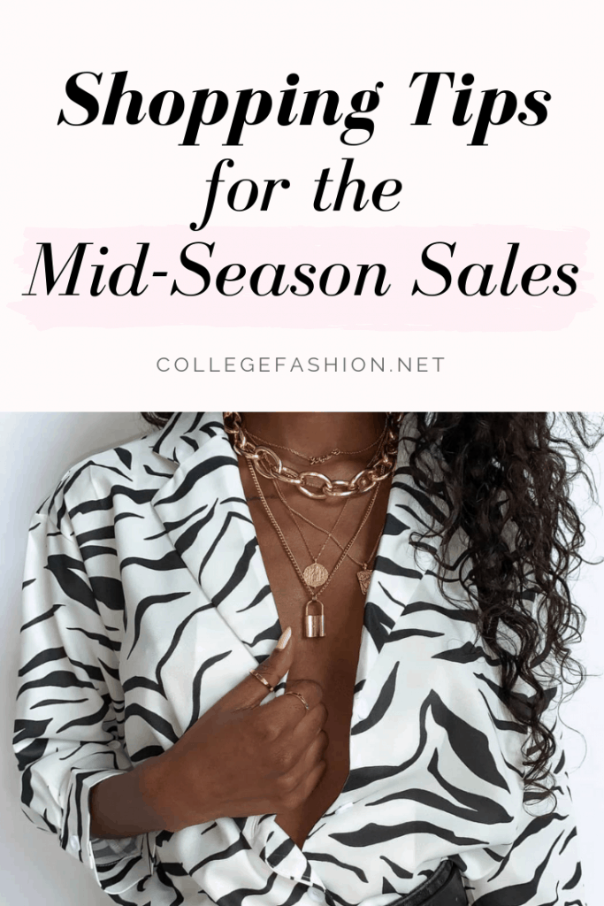 Best shopping tips for the mid season sales: How to shop smart and fill up your wardrobe
